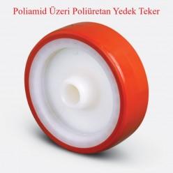 ED Serisi ZKP Poliamid Üzeri Poliüretan Kaplı Teker