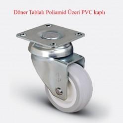 ZKC Serisi Polyamid Üzeri PVC Kaplı Teker Çeşitleri