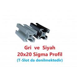 20X20 Sigma Profil 6 Kanal